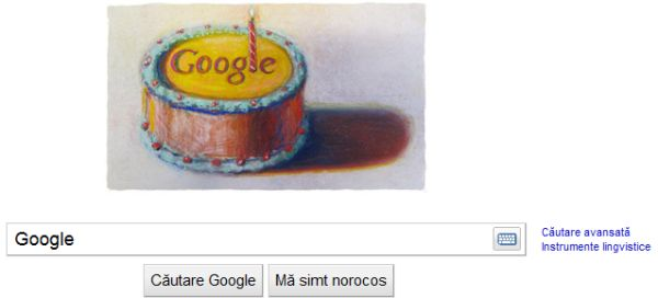 Google implineste 12 ani