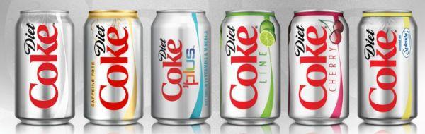 Diet Coke bate Pepsi
