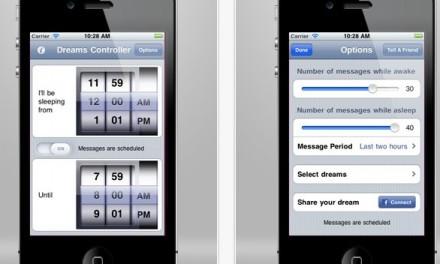 Aplicatia care controleaza ce visezi