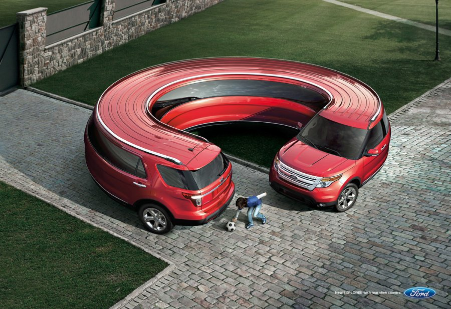 Ford Explorer ad