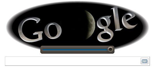 logo google eclipsa de luna