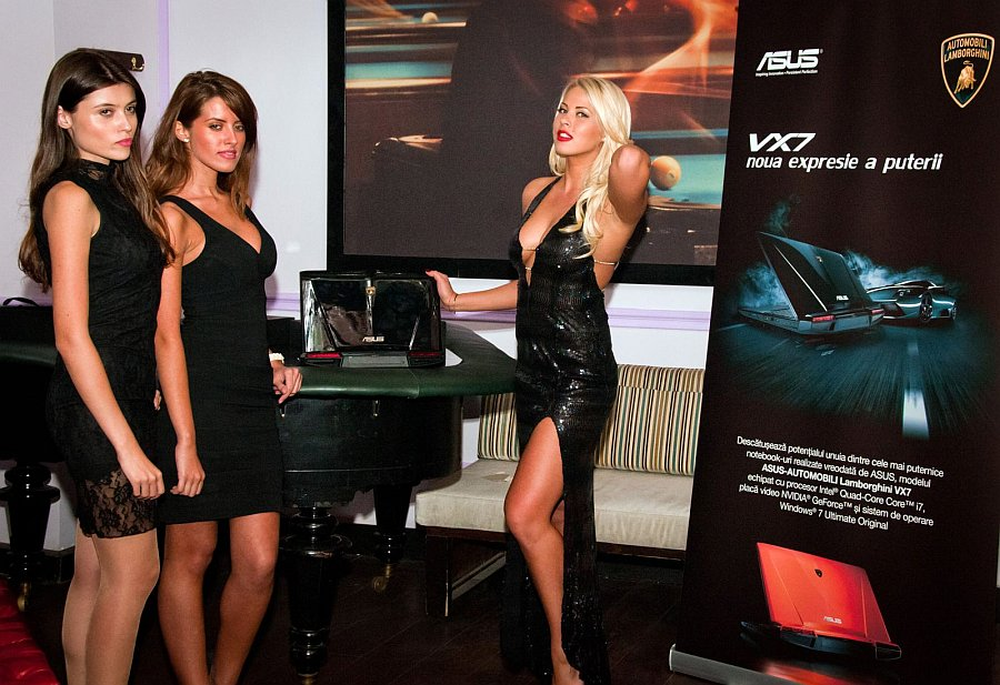 ASUS Lamborghini VX7 in Romania