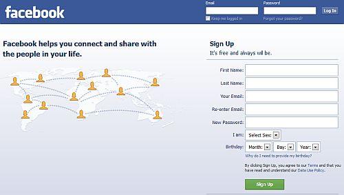 Facebook nu merge in Europa