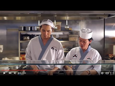 Ad of the day: Zenfone este sushi-proof